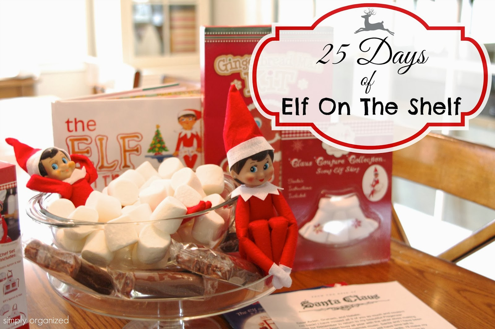 simply organized: 25 Days of Elf On The Shelf! v.2013