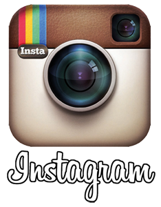 Instagram logo PNG transparent background white lettering