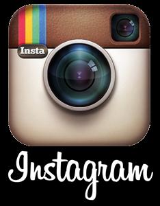 Instagram logo PNG transparent background white lettering