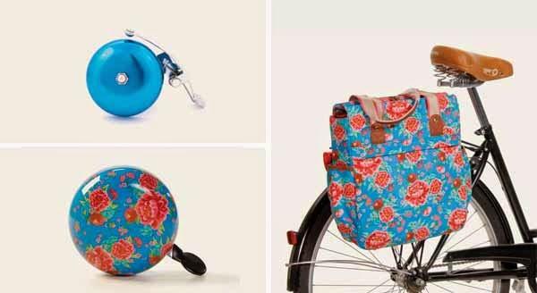 Timbres, bolsos y complementos para ciclistas urbanos.