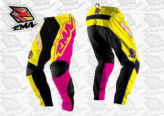 Motocross Trail Bike MTB BMX MX Enduro Cycling Jersey Custom Yellow Pant