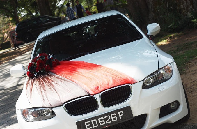 Link Camp Wedding Car Flower Decoration Collections 2013 2
