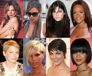Contoh Model Gaya Rambut Panjang dan Rambut Pendek Terbaru 2011
