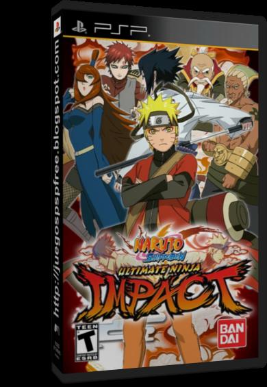 Naruto Shippuden: Ultimate Ninja Impact [Full] [1 link] [Espa�ol] [PSP] [FS]