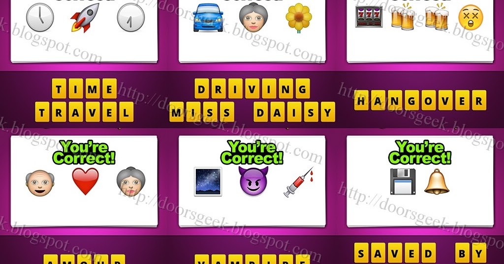 guess the emoji level 25 answers and cheats doors geek