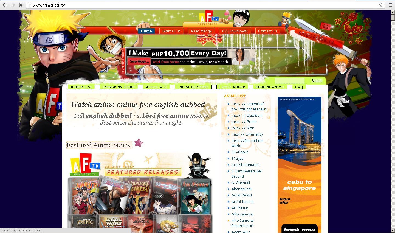 Http www animefreak tv