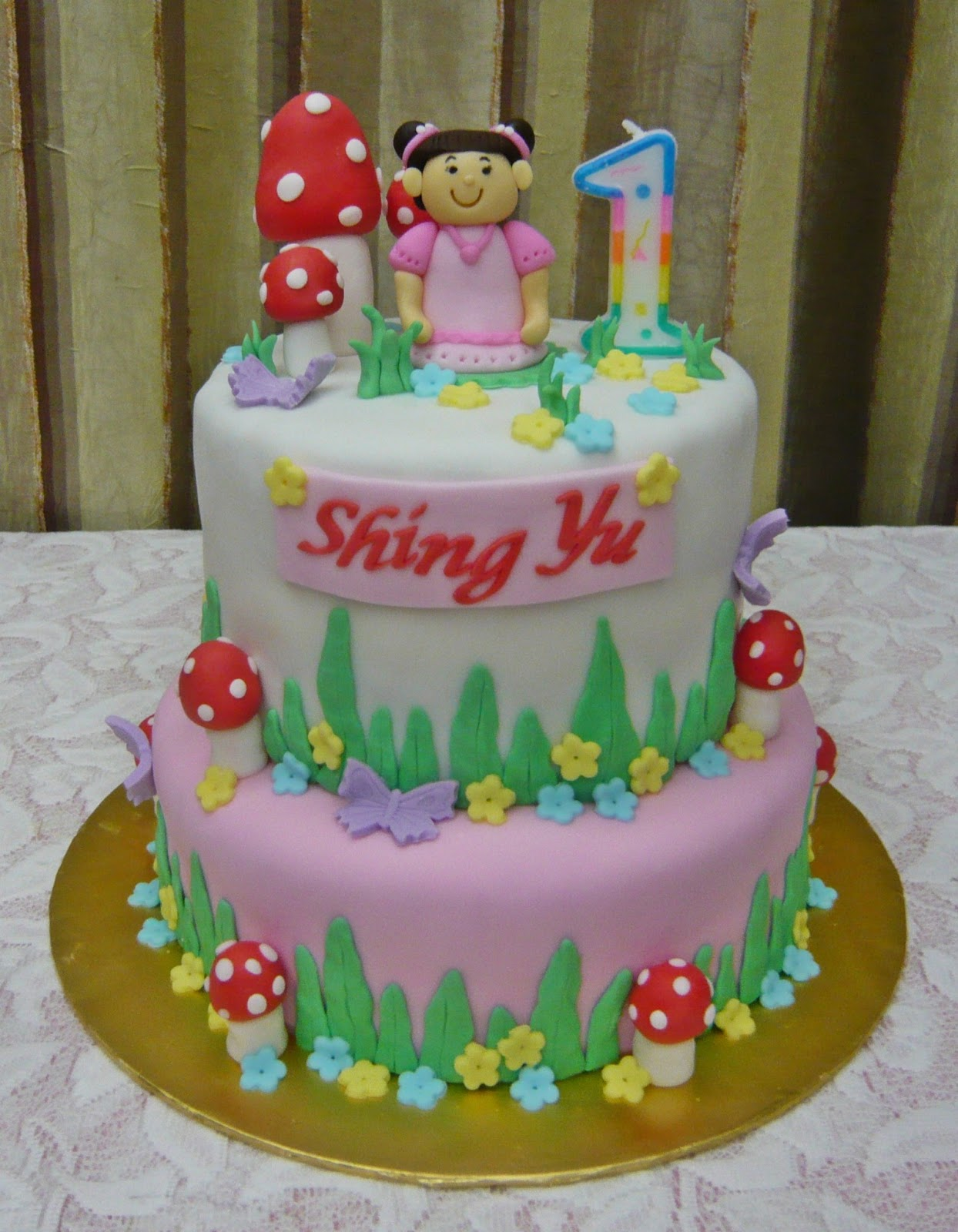 images of cakes with garden theme - photo #30