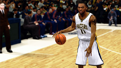 NBA 2K13 Orlando Johnson Cyberface Pacers Patch