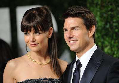Tom Cruise with his Wife