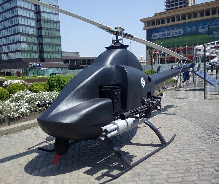 unmanned attack and reconnaissance helicopter