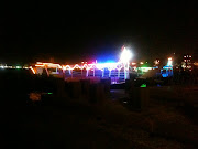 lit up dhow boats (img )