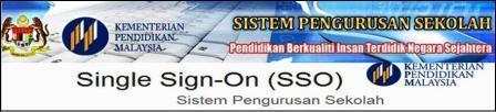 SSO Sistem Pengurusan Sekolah KPM