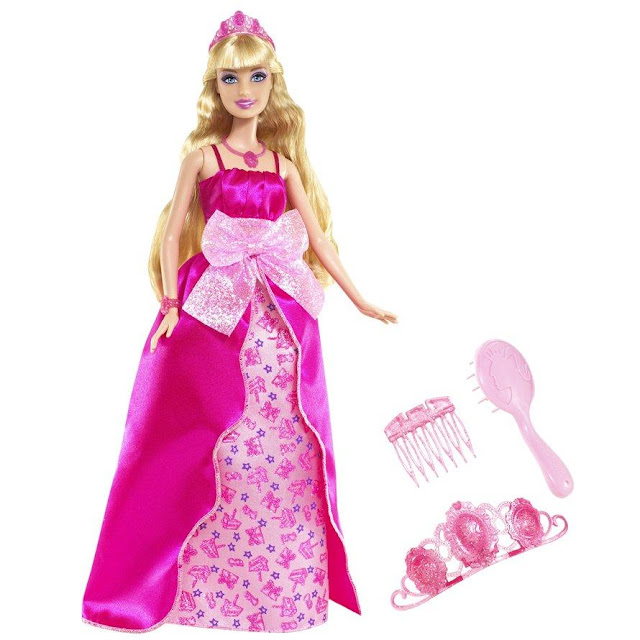 Barbie Princess with Birthday Dress