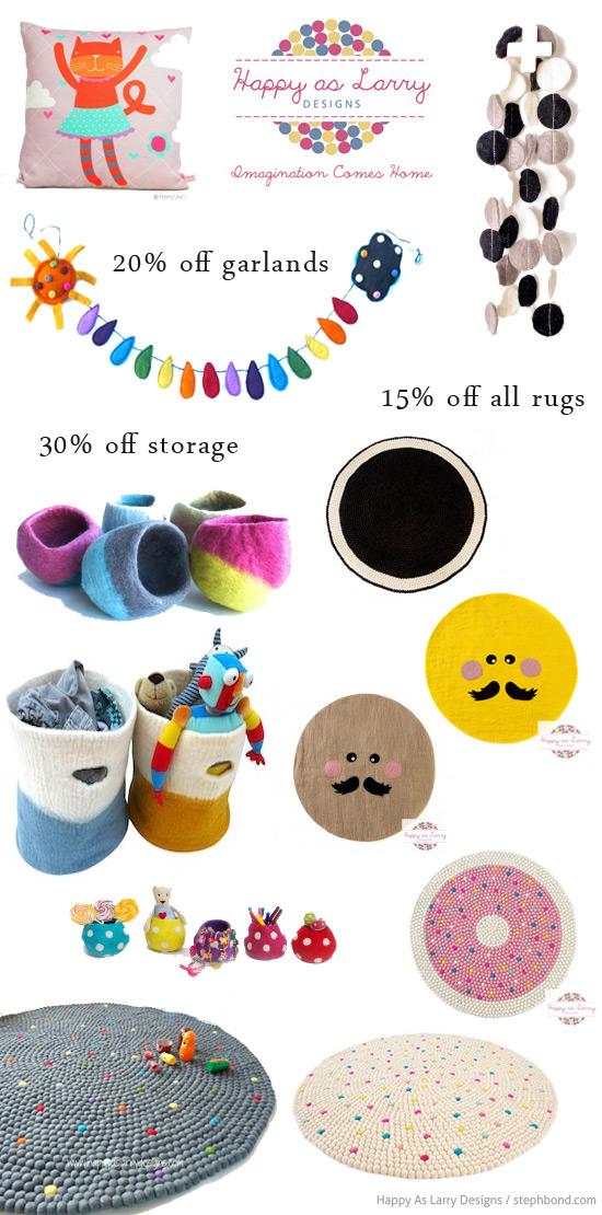 ethical felt homewares for kids designed in Australia and made in Nepal