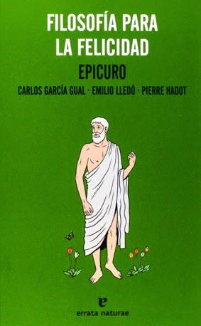 epicuro libro filosofia para la felicidad por carlos garcia gual emilio lledo