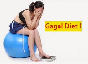 Kesalahan yang Menyebabkan Diet Gagal