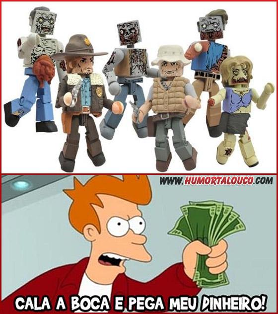 Lego versão The Walking Dead