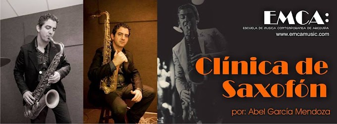 Clínica de Saxofón (21 de junio)
