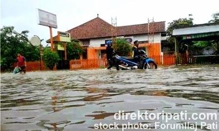 Banjir di Pati Hari Ini, Jalan Tayu Tergenang Air