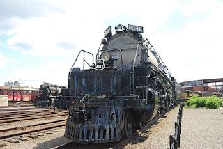 Gambar Kereta Api Lokomotif Uap Union Pacific BigBoy
