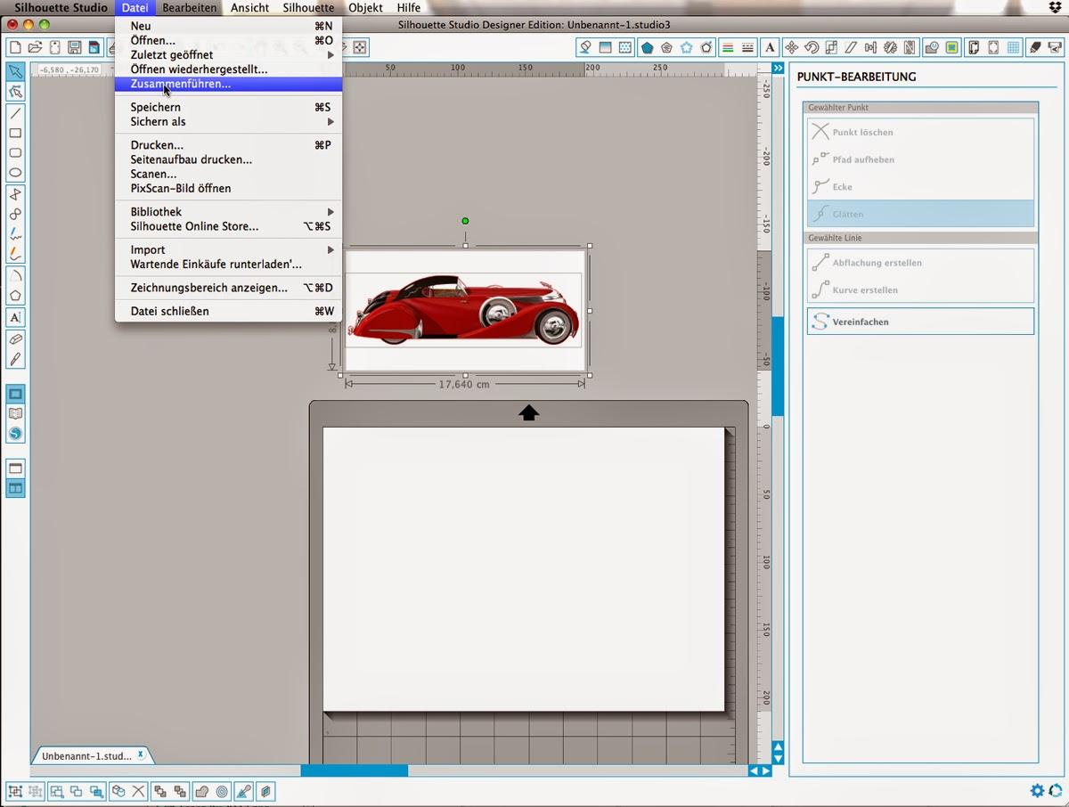 papierscherestoff einfaches silhouettestudio tutorial nachzeichnen von importierten bildern. Black Bedroom Furniture Sets. Home Design Ideas