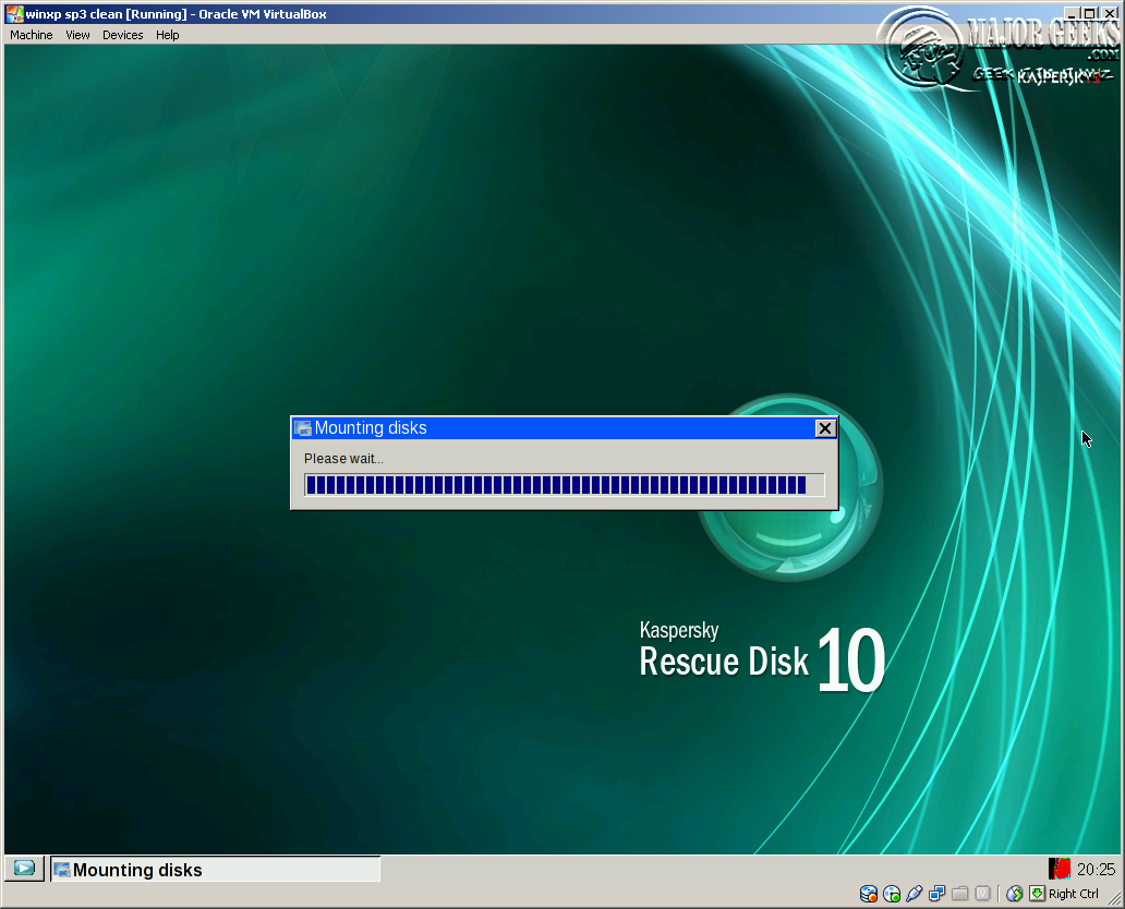 kaspersky rescue disk how to use
