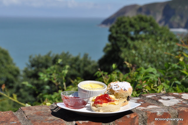 Devonshire Cream Tea, Lynton, North Devon