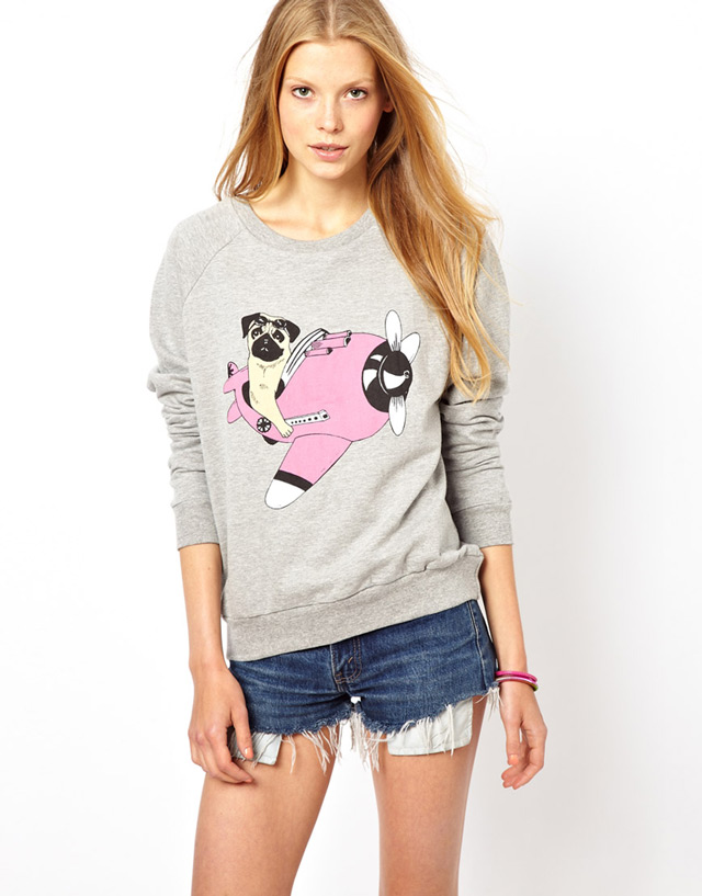 Sweatshirt by Brat & Suzie. Buy at ASOS