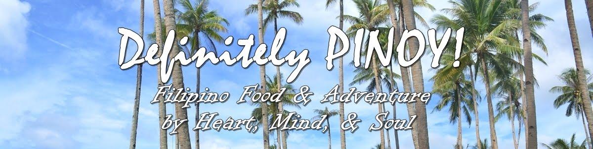 Definitely PINOY!
