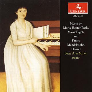 Piano Recital: Miller, Betty Ann - PARK, M.H. / BIGOT, M. / MENDELSSOHN, Fanny