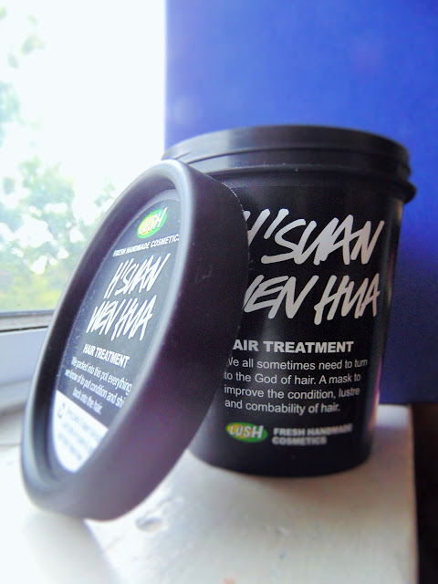A hair mask to finally rival 3 minute miracle? Lush H'suan Wen Hua