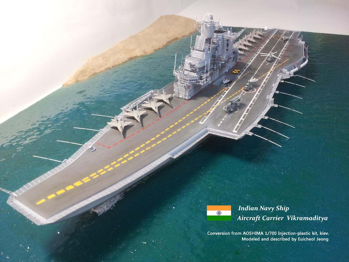 India Is Building Second Homegrown Aircraft Carrier | The National ...