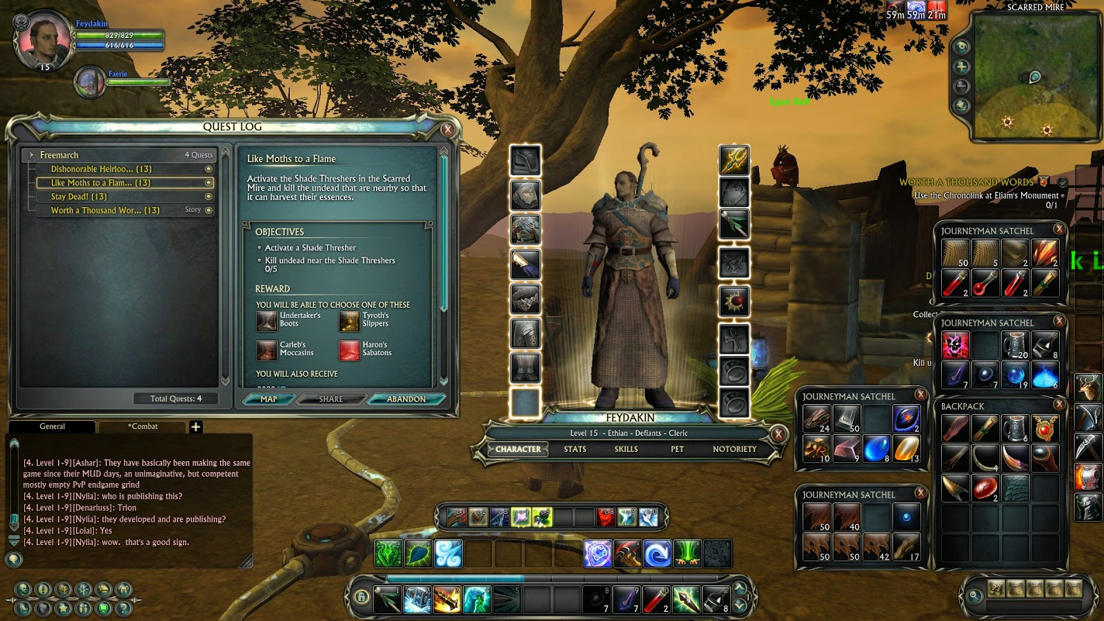 How Important are Interfaces in MMORPGs