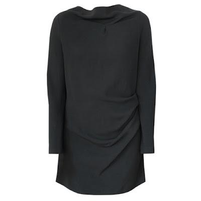 roland mouret samiel ruched mini zip dress