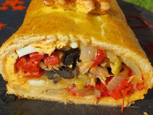 Empanada enrollada Ana SEvilla