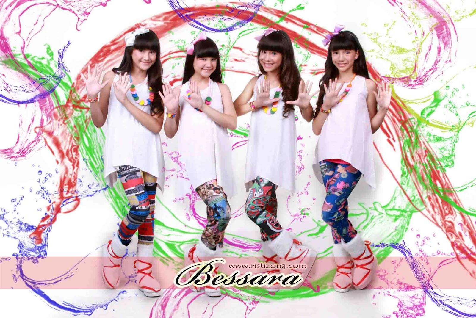 foto bessara girlband foto cantik bessara