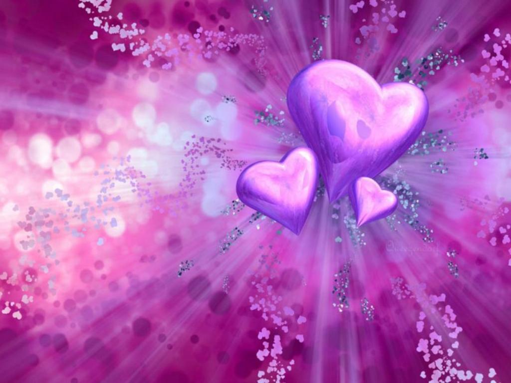 Ljubavne Slike: Tri srca