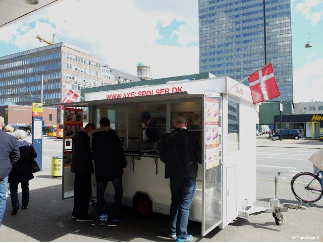 Polsevogn Hot Dog Danois Copenhague