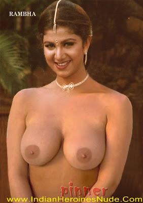 Actresses Fake Nude Images: Rambha