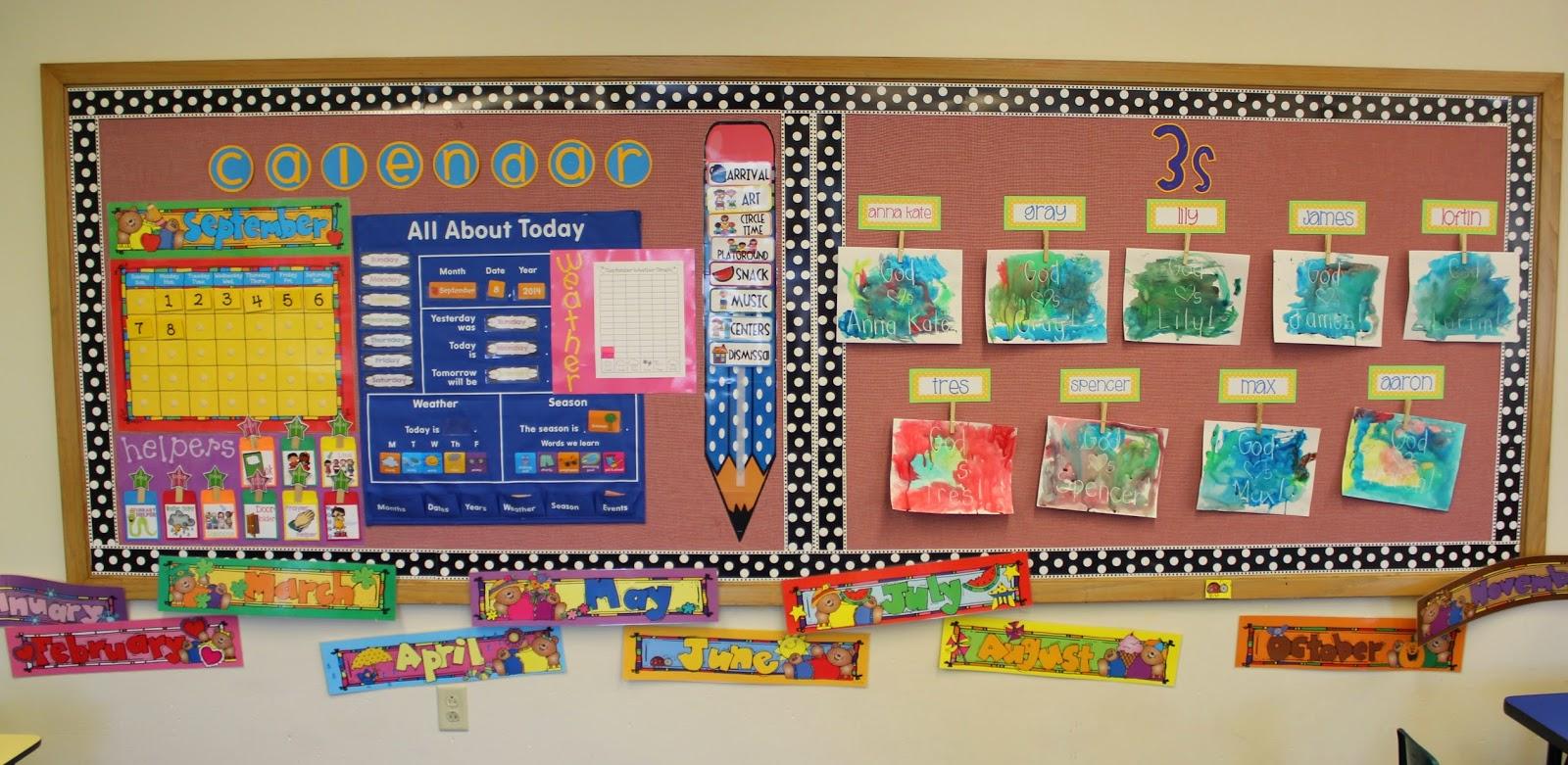 Classroom Calendar Days Of The Year : Elementary organization a classroom tour