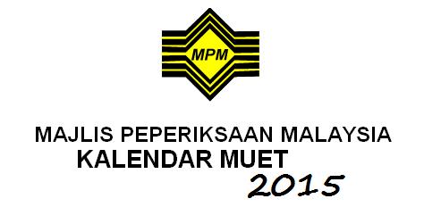 Borang Pendaftaran MUET Sesi November 2015 Online