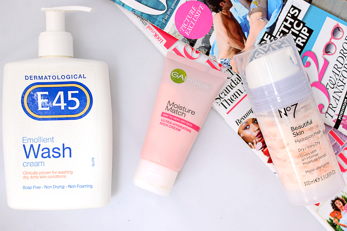 Face Wash, Moisturiser and Mask for Very Dry Skin
