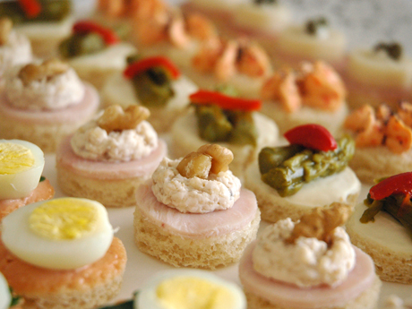 Confiteria ideal rio cuarto canapes for Canape para coctel
