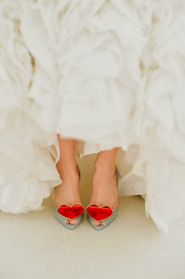 zapatos lady dragon corazon rojo bodas novia blog mi boda gratis