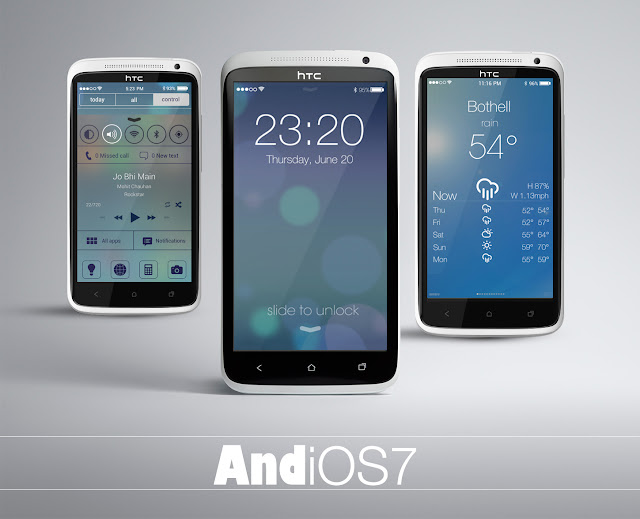 AndiOS7 - THE iOS7 theme for Android