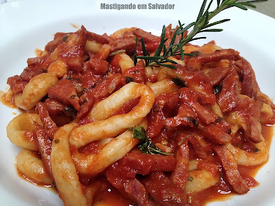 Ristorante La Pasta Gialla: Strozzapreti ao Pomodoro