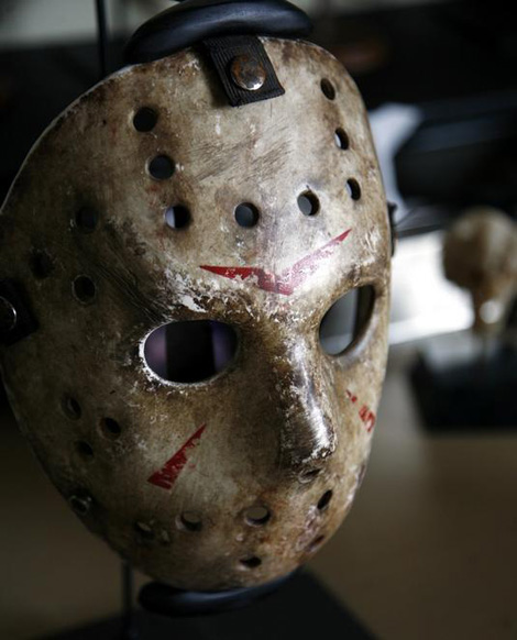 Film Props Friday The 13th 2009 Hockey Mask