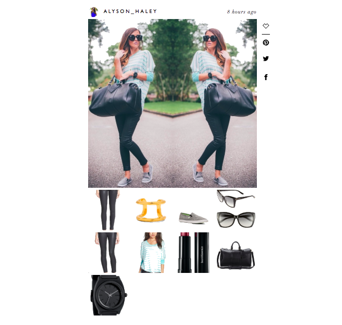 like to know it, shop instagram, blogger