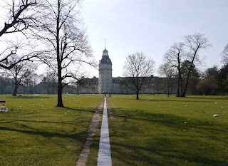 Rückseite Karlsruher Schloss
