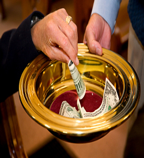 Giving Money To The Church giving undesignated funds